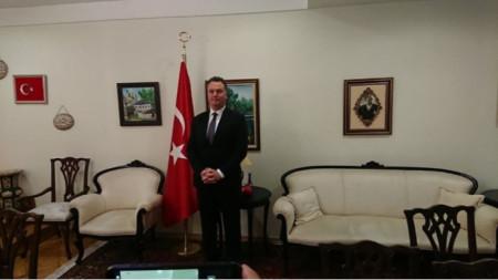Корхан Кюнгерю, генерален консул на Република Турция в Пловдив