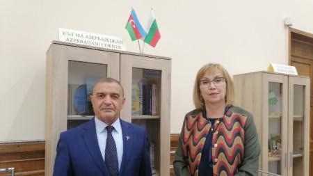 проф. Карим Тахиров и доц. д-р Красимира Александрова