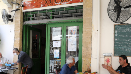 В кафенето - Никозия, 21 май 2020 г.