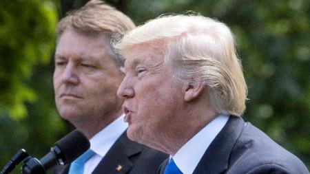 Президентите Йоханис и Тръмп