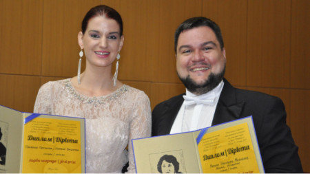 Plamena Girginova and Mihail Mihaylov