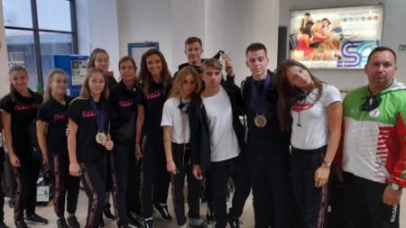 Националният ни отбор по спортна аеробика