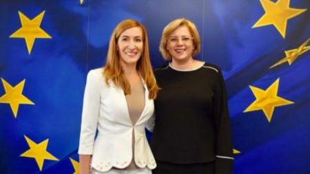Nikolina Angelkowa und Corina Crețu