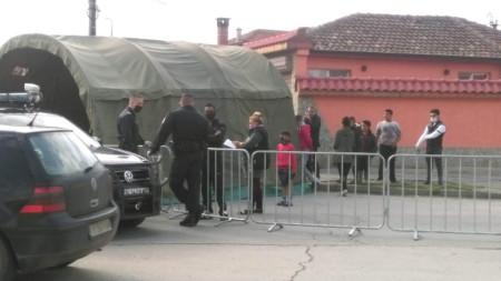 Ромската махала в Ямбол остава под карантина