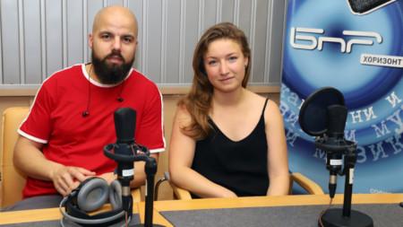 Николай Стойков и Фани Бъчварова
