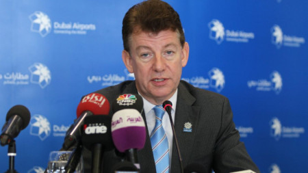 Пол Грифитс, изпълнителен директор на  Dubai Airports
