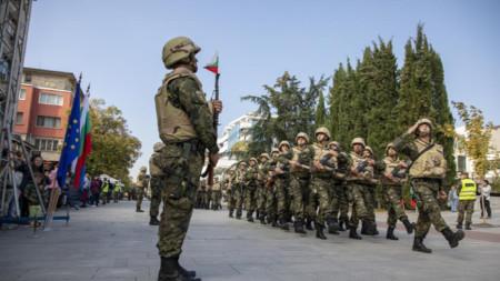 Përcjellja e kontingjentit të 39 ushtarak për në Afganistan