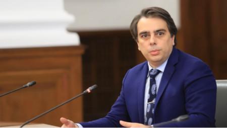 Asén Vasilev, ministro de Finanzas interino