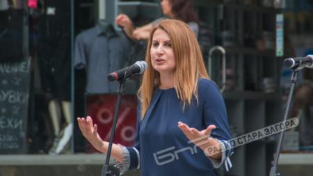 Милена Желева, заместник кмет на Община Стара Загора