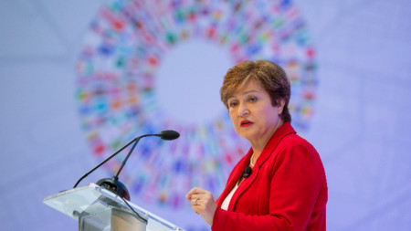 Управляващият директор на Международния валутен фонд Кристалина Георгиева.