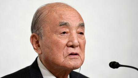 Бившият премиер на Япония Ясухиро Накасоне