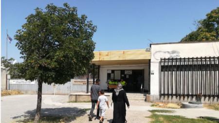 Центърът за настаняване на мигранти в Харманли