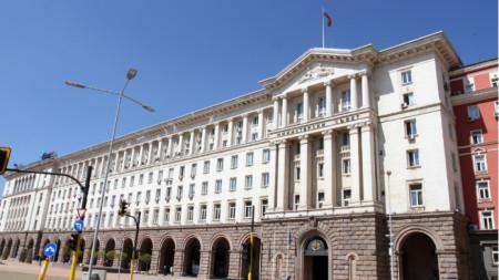 Сградата на Министерски съвет