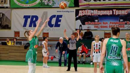 Баскетболистките на Берое записаха втора победа с над 50 точки разлика за 24 часа.