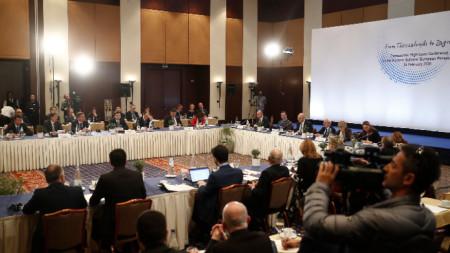 Конференцията в Солун разглежда новата методология на ЕС за водене на преговори за разширяване.