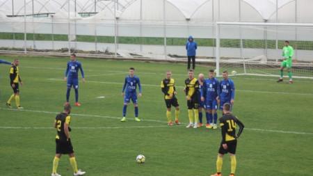 Футболистите на Ботев (Пд) не успяха да вкарат гол на Пяст.