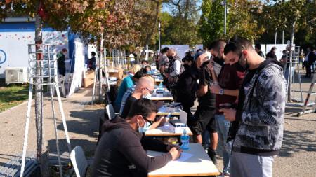 Безплатни тестове за коронавирус в Солун, 29 октомври 2020 г.