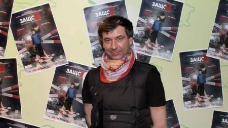Христо Порязов на премиерата на филма