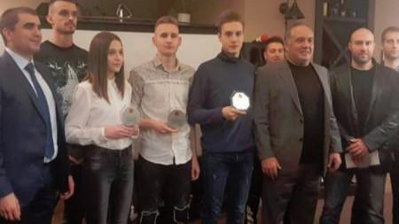 Бинев и Далаклиев са номер 1 при мъжете, а Теодор Георгиев е треньор на годината в таекуондото