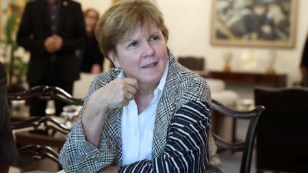 Джейн Хол Лют - пратеникът на генералния секретар на ООН за Кипър