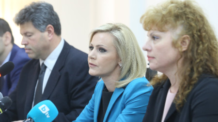 Press conference of Bulgaria's Prosecutor's office