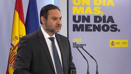 Хосе Луис Абалос, министър на транспорта на Испания