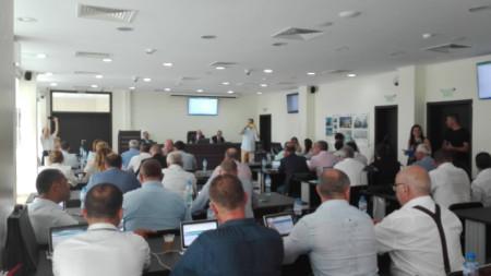 заседание на Общински съвет Бургас