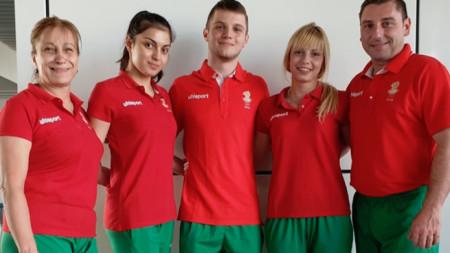 Мариана Макулова, Христина Пенева, Мариян Михалев, Мариела Пенева и Станислав Стоянов