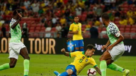 Бразилия - Нигерия - 1:1