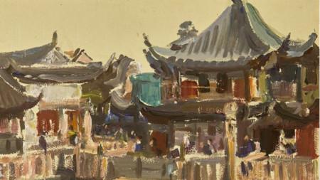 """Една от """"китайските"""" творби на Дечко Узунов"""