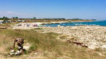 Плажът на Шабла
