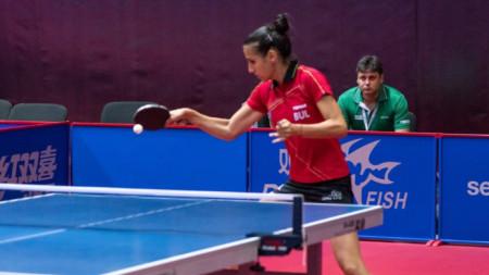 Мария Йовкова е на осминафинал.