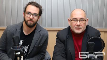 Александър Василев и доц.Мирослав Богданов