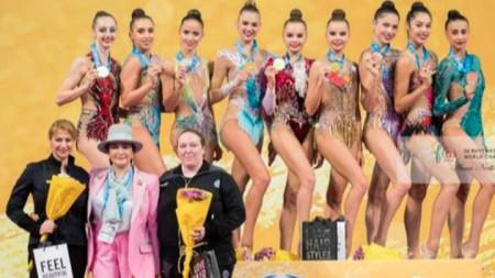 Сребърен медал за България в отборното състезание на СП в София