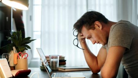 Стресът може да дойде и от компютърния екран