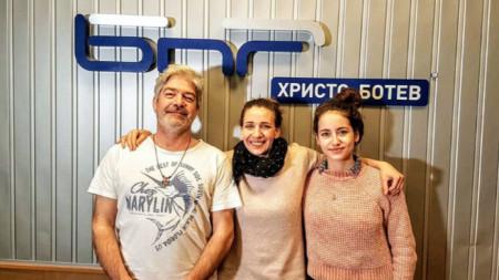 Иво Стаменов-Отто, Калина Станева и Калина Стаменов