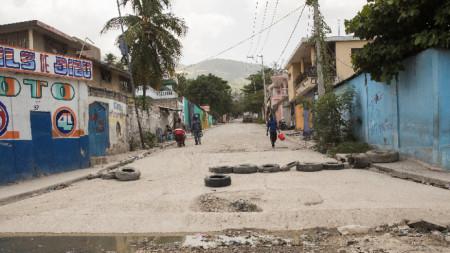 Мартисан, контролиран въоръжени банди квартал на Порт-о-Пренс.