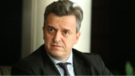 Bulgargaz Executive Director Nikolay Pavlov