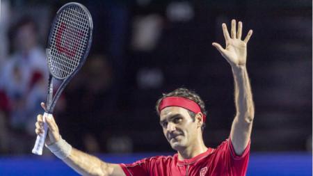 Роджър Федерер ще започне 2020 година в Мелбърн на Australian Open.