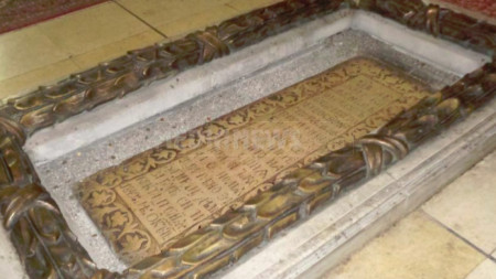 Гробът на епископ Агапий