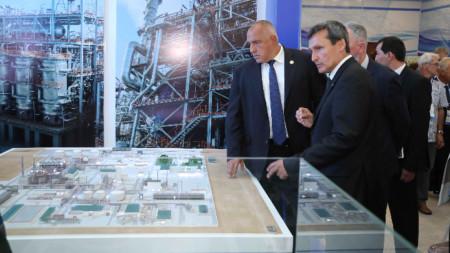 Премиерът Бойко Борисов присъства на откриването в Туркменистан  на Международната каспийската изложба за иновативни технологии.