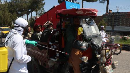 Херат, Афганистан, 23 април 2020 г.
