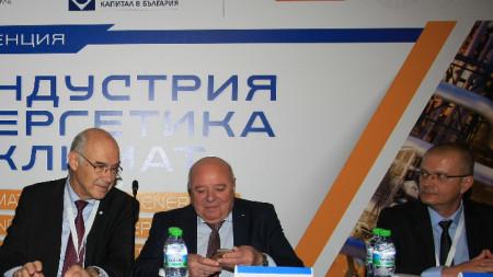 Иван Иванов, Любен Тотев, Ивайло Алексиев (от ляво надясно)