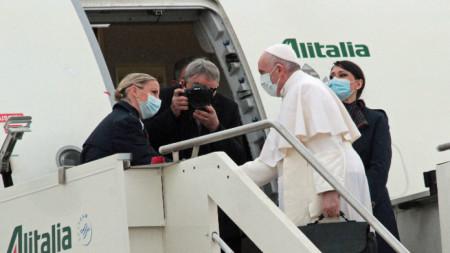 Папата замина на 4-дневна визита в Ирак.