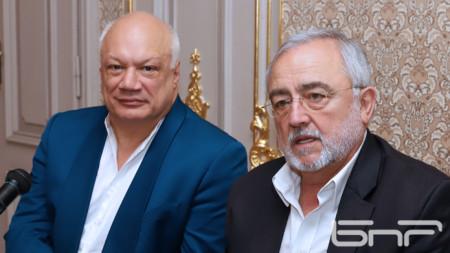 Ерик-Еманюел Шмит и Мариус Донкин