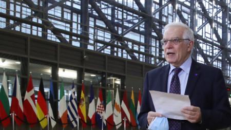 Върховният представител на ЕС по външната политика Жозеп Борел