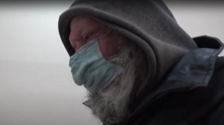 Стоп кадър от видео репортажа на Ася Пенчева