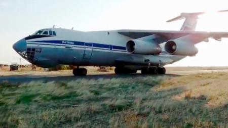 Миротворците пристигнаха вчера в Ереван.