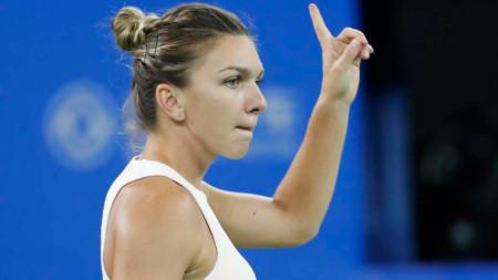 Симона Халеп за трета поредна година е №1 за феновете.