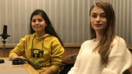 Жанин Ал-Шаргаби (вляво) и Антонина Лозанова
